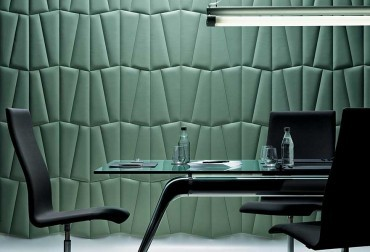 In a leather – lush new range of wallcoverings