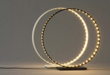 Hole in one – circular LED feature light