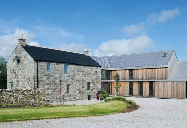 A perfect match: spectacular farmhouse extension in Aberdeen