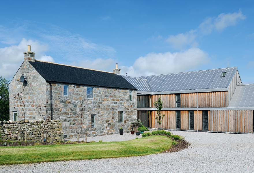 A Perfect Match Spectacular Farmhouse Extension In