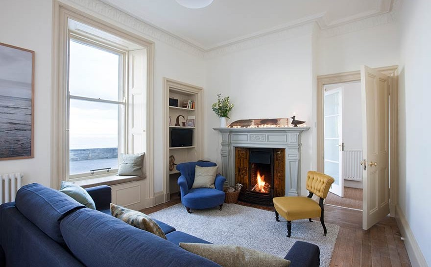 Coastal vote: Edwardian terraced house with wonderful sea view ...