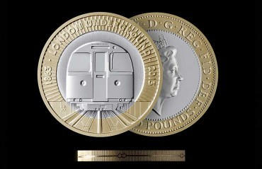 Coining it in: Special-edition designer coin