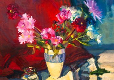 Flowered up: Fresh mix at Whitehouse Gallery