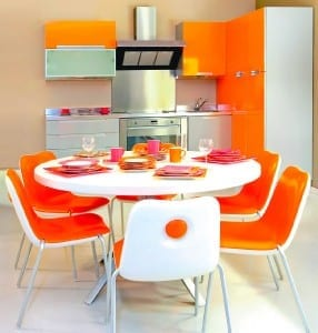 Shaun Dunbar from Kitchens by J.S. Geddes advises allowing at least 1.2m between a counter and dining table for optimum manoeuvrability