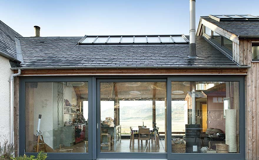 Living large cottage extension was no ordinary project for Cottage kitchen extensions