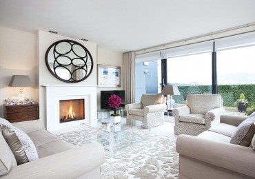 Upper class: contemporary penthouse blends old with new