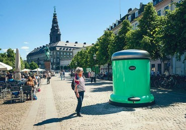 Clean machine: Vipp back city cleanliness goal