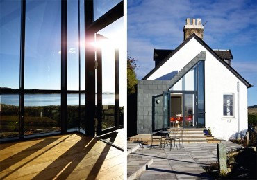 Room not gloom: An Argyll villa transformed