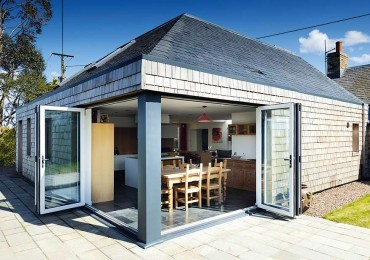 Top remodel: An eco-extension on the outskirts of Haddington