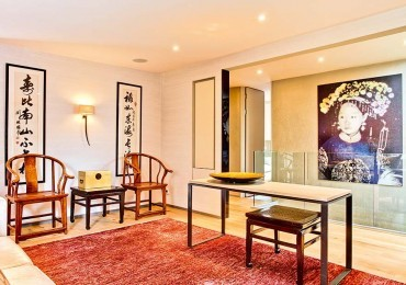 Eastern promise: A pied à terre goes Oriental