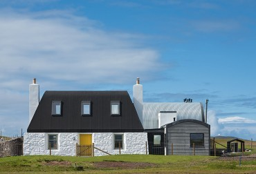 Form & function: Project on the Isle of Tiree is a family affair