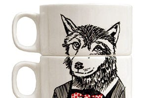 It's tea time, Mr Wolf