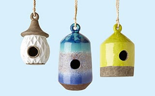 Bird houses by Anthropologie