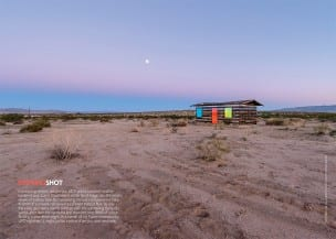 Opening shot, page 12. Photograph: Steve King. Courtesy of Royale Projects: Contemporary Art