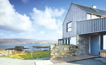 The end of the road: new-build guesthouse on Skye