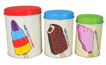 Lolly good: Wall's Classic canisters