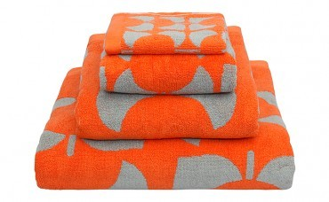 High and dry: Orla Kiely hand towels