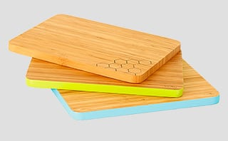 Colour code: Green Tulip Cutting Edge chopping boards