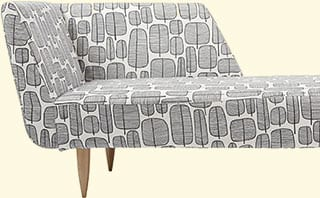 No chaise-longue to swoon on?