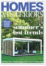 Front cover of Homes and Interiors Scotland issue 96, July-August 2014