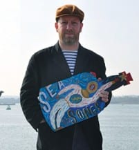 Inspired by the sea, Jonny revels in his coastal locale