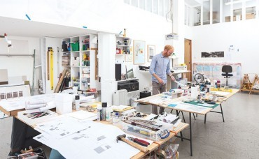 Inside Toby Paterson's Glasgow studio and home