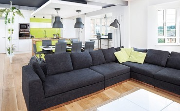 American and Scottish flavours in this remodelled pad
