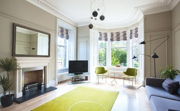 Reconfiguring an 		Edinburgh home has created new light and flow