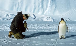 Opening shot. New book 'The Crossing of Antarctica' contains a superb collection of photographs by George Lowe, who reached the South Pole in the 1950s, celebrating the fearless explorers of the ice fields. Thames & Hudson, £24.95