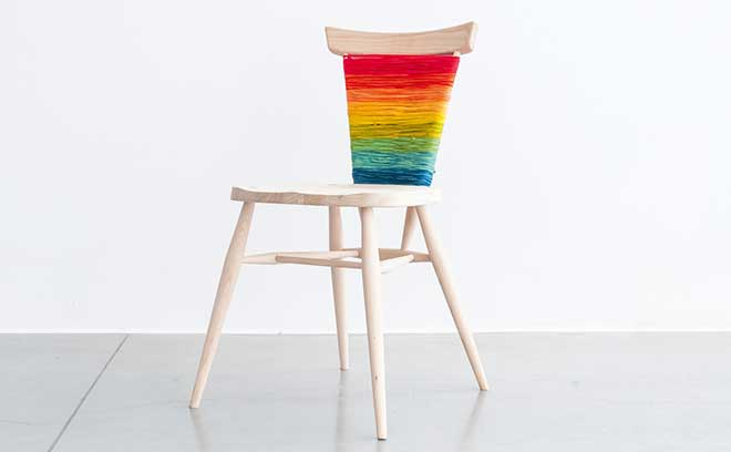 Ercol's stacking chair