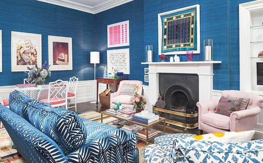 period architecture gets a colourful facelift homes interiors scotland. Black Bedroom Furniture Sets. Home Design Ideas
