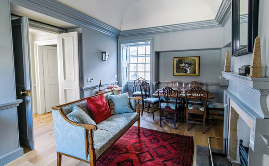 17th century masterpiece in leith restored homes interiors scotland