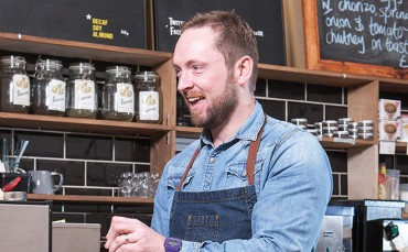Graeme Crawford, coffee roaster