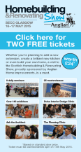Click here for two free tickets to the Homebuilding & Renovating Show
