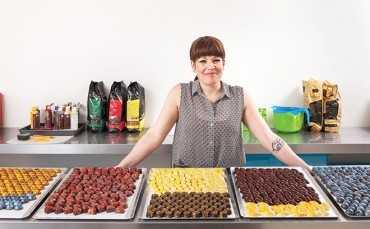 Stacy Hannah, chocolatier