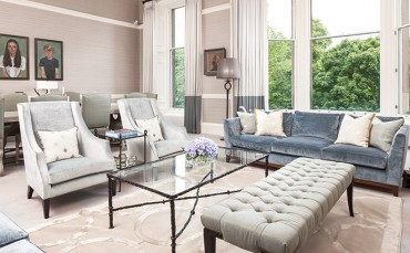 An Edinburgh townhouse oozes class and sophistication