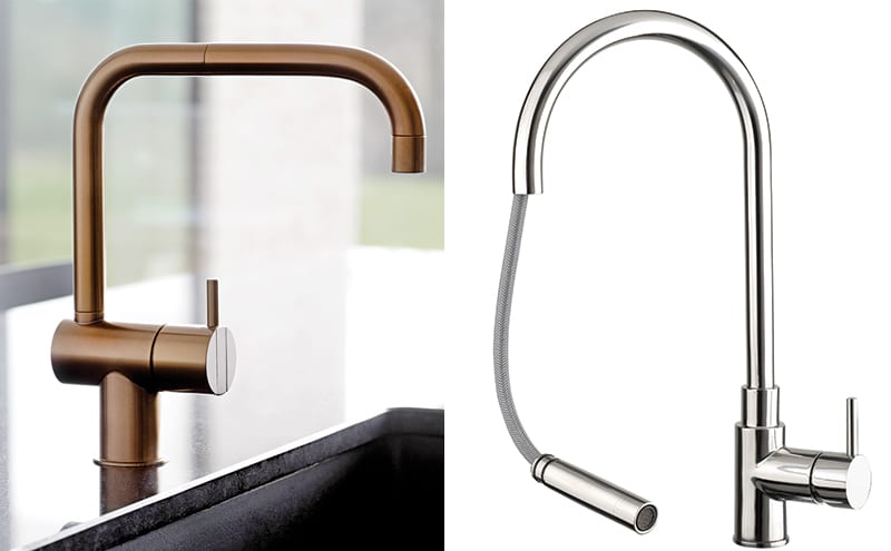 Spout Make Light Work Of Heavy Duty Washing Up With The Zecca Mono Kitchen Mixer Tap And Its