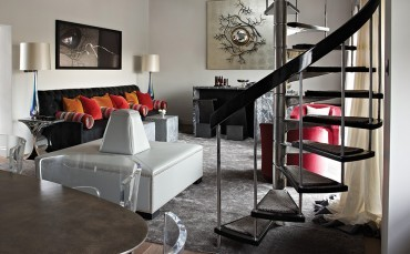 How one American designer took this London penthouse to new heights