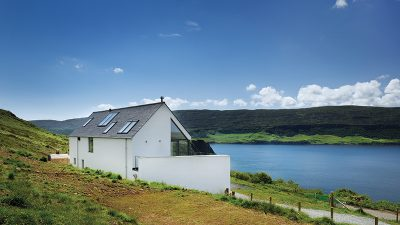 The vistas from a rugged corner of Skye proved irresistible for one couple