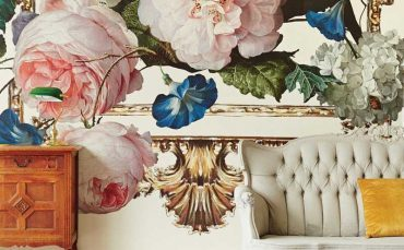 Say it with luscious leafy wallpaper