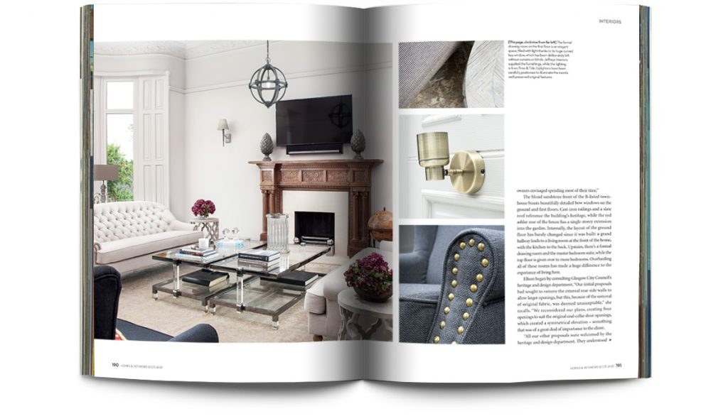 scottish homes and interiors. Sample pages from a recent issue  Homes Interiors Scotland 117 Digital edition