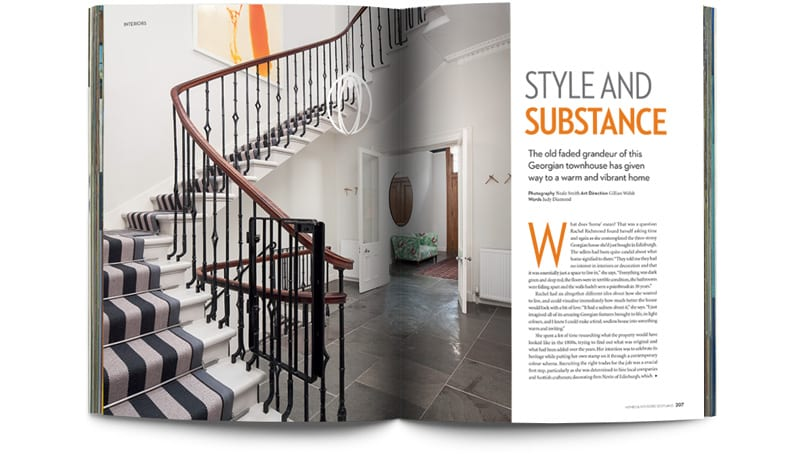 SUBSCRIBE TO SCOTLANDu0027S LEADING DESIGN AND LIFESTYLE MAGAZINE. Homes And  Interiors ... Part 54