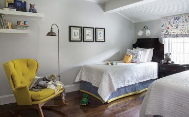 By mixing large pieces with vibrant textiles, one interior designer makes a bold statement