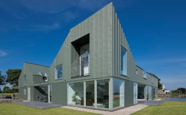The surrounding hills played a major role in the build of this Angus home