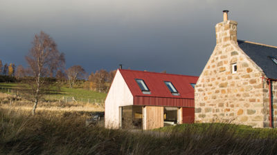 A derelict farmhouse in the wilds of Lochnagar is given a new lease of life