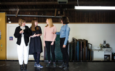 By joining forces and pooling resources, the four women behind Collect Scotland have put printed textiles – and their talented makers – firmly centre stage