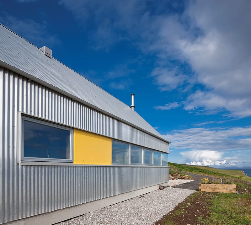 Tinhouse A New Skye Croft House That Cleverly Combines Traditional Highland Sheds With The Futuristic Spirit Of 1960s US Airstream Caravans