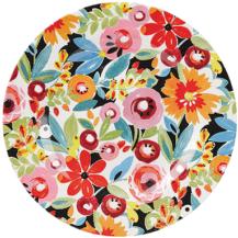 Flowerdrop Melamine Plate, £7, Collier Campbell