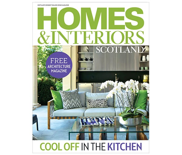 Homes and Interiors Scotland Issue 113 front cover