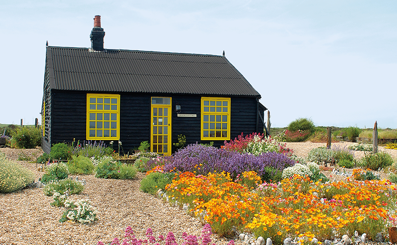 Derek Jarman's at Dungeness in The Gardener's Garden